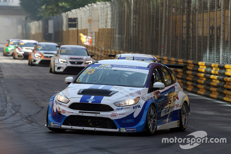 Focus St Racing >> James Nash Ford Focus St Tcr Proteam Racing At Macau On November