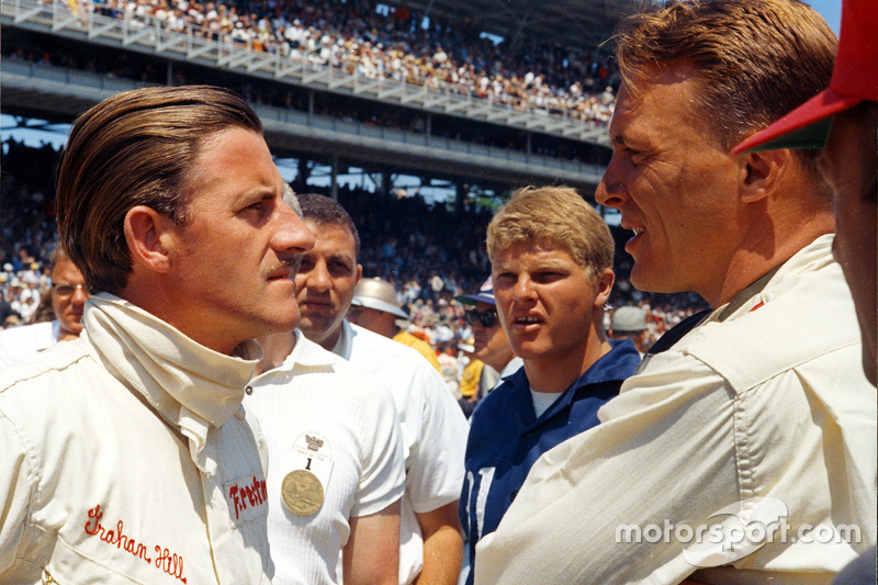 Winnaar Graham Hill en Dan Gurney