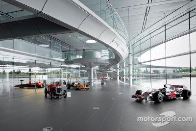 Visita no McLaren Technology Centre