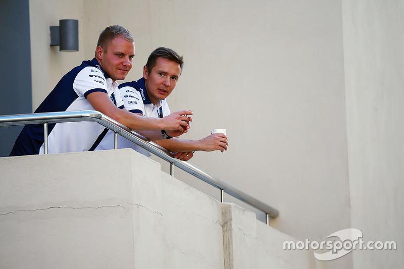Valtteri Bottas, Williams, mit Trainer Antti Vierula