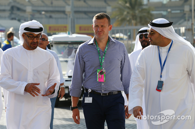 Simon Pearce, Special Advisor to the Chairman of the Executive Affairs Authority, of Abu Dhabi