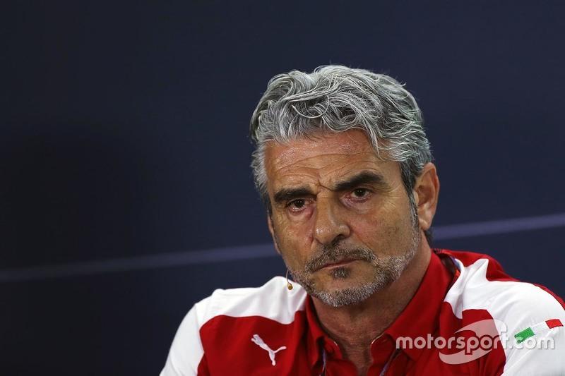 Maurizio Arrivabene, Ferrari Takım Patronu FIA Basın Konferansında