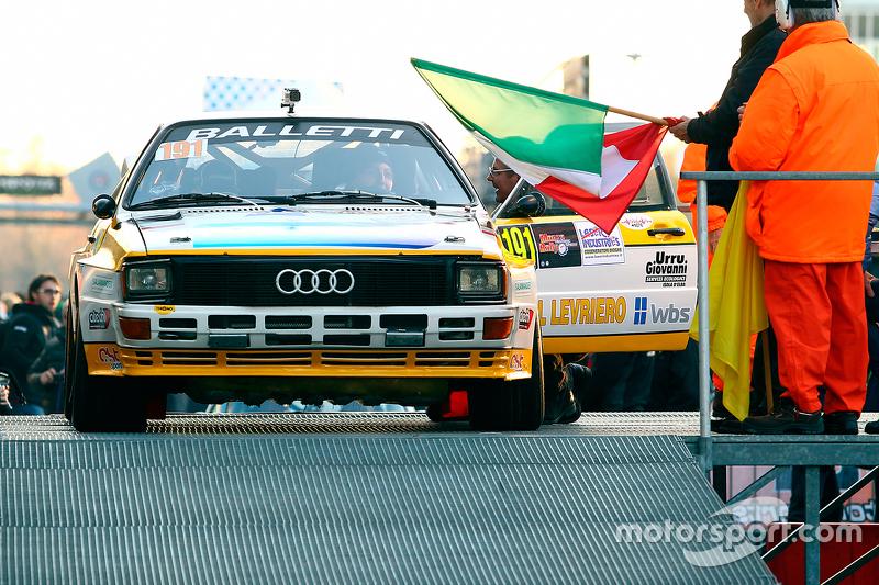 Salvatore Riolo and Alessandro Floris, Audi Quattro A3