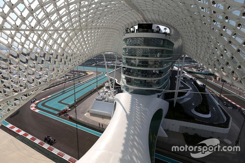 Max Verstappen in Abu Dhabi