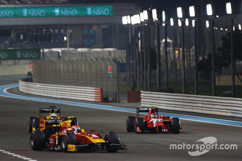 Jordan King, Racing Engineering; Norman Nato, Arden International