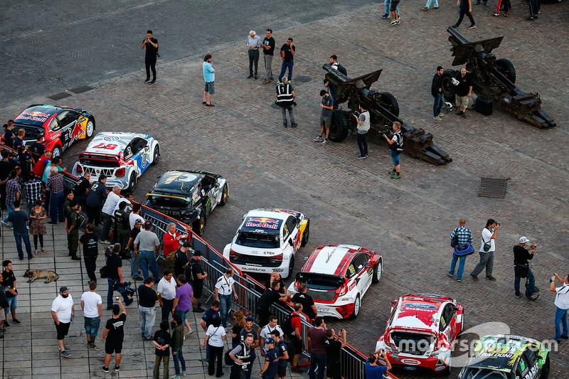 Die Autos der Rallycross-WM in Rosario