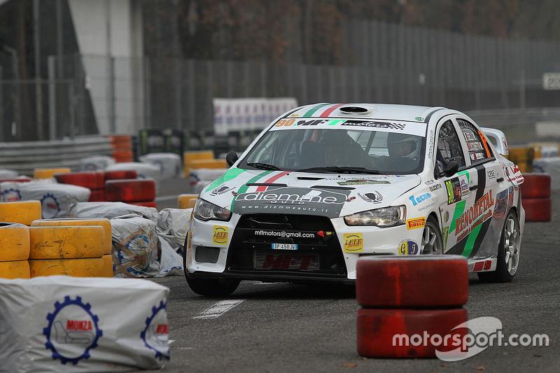 Marco Belli та Marco Lucchetti, Mitsubishi Lancer Evo X