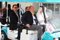 De voormalige Spaanse koning Juan Carlos