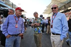 Ники Лауда, Mercedes и Дональд Маккинзи, управляющий партнер CVC Capital, зам руководителя Global Investments