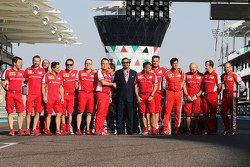 A Ferrari group photograph