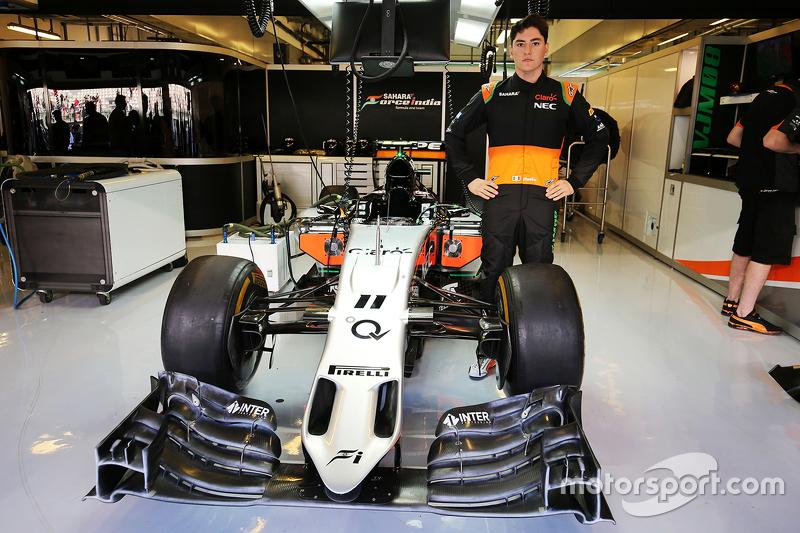 Alfonso Celis Jr., Sahara Force India F1 Team, Entwicklungsfahrer