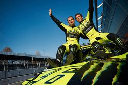 Переможці Валентино Россі та Карло Кассіна, Ford Fiesta