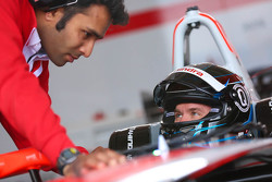 Nick Heidfeld, Mahindra Racing and Vinit Patel, Mahindra Racing Chief Engineer
