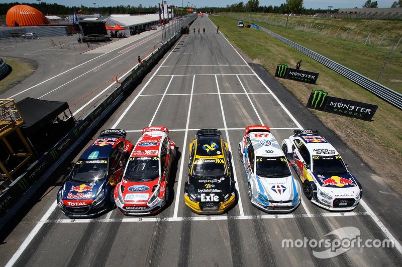 Peugeot, Ford, Audi, Volkswagen represented in World Rallycross