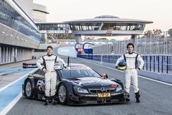 Sebastian Asch and Luca Ludwig, Mercedes-AMG DTM Team
