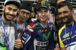 Jorge Lorenzo, Yamaha Factory Racing with fans