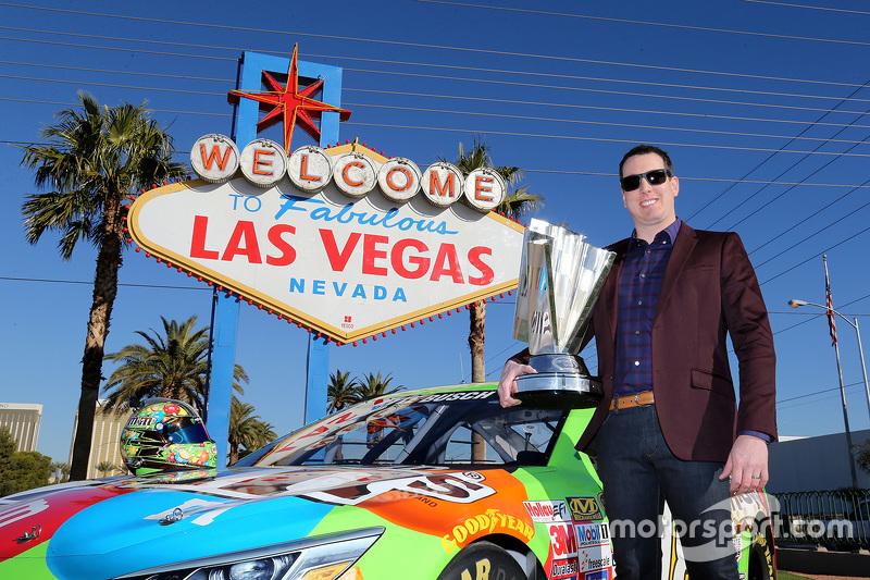 NASCAR-Champion Kyle Busch, Joe Gibbs Racing Toyota