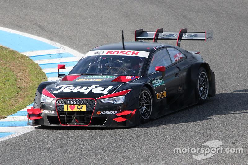Audi RS 5 DTM, Testauto