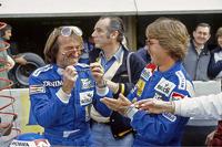 Jacques Laffite et Keke Rosberg, Williams