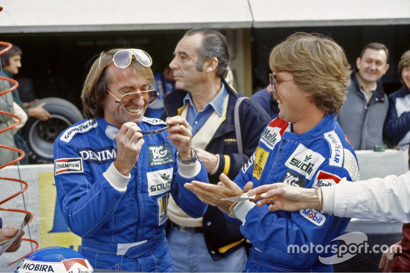 Jacques Laffite en Keke Rosberg, Williams