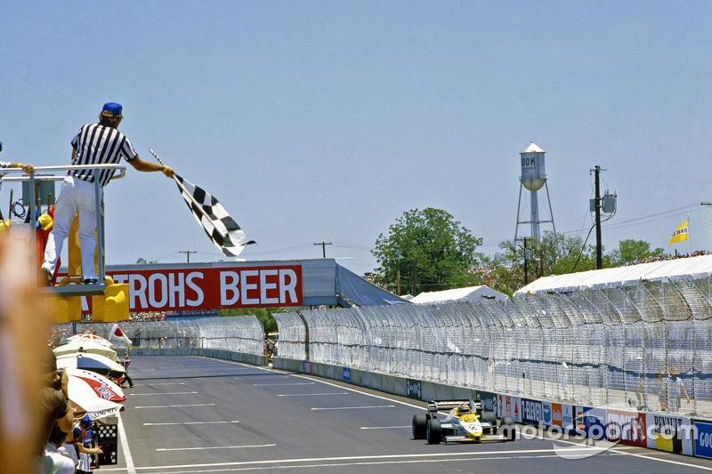 Keke Rosberg, Williams pakt de overwinning