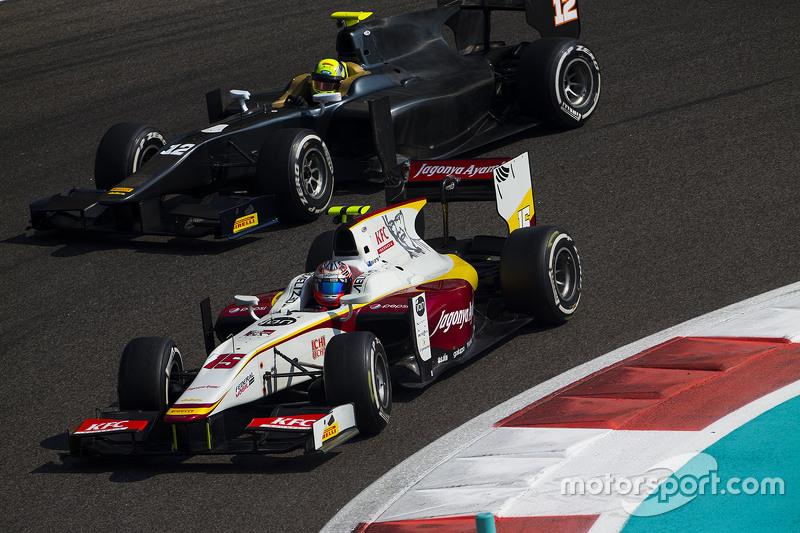 Мітч Еванс, Campos Racing та Тіо Еллінас, Trident