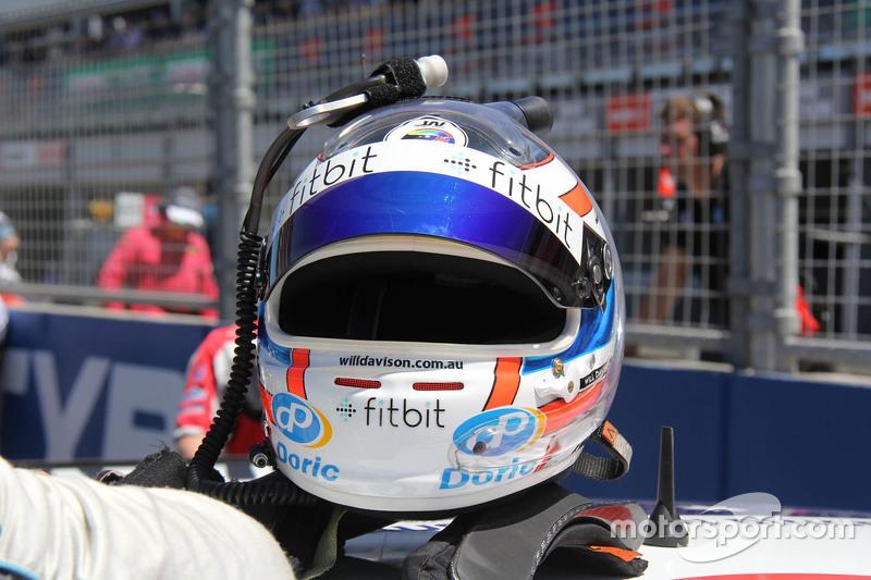 Will Davison, Erebus Motorsport Mercedes helmet