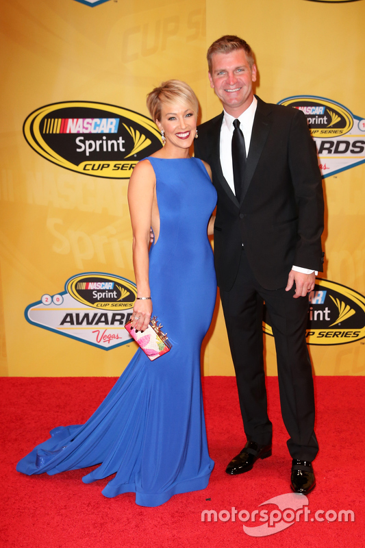 Клінт Бойєр, Michael Waltrip Racing Toyota з wife Lorra