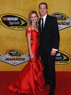 Brad Keselowski mit Freundin Paige White