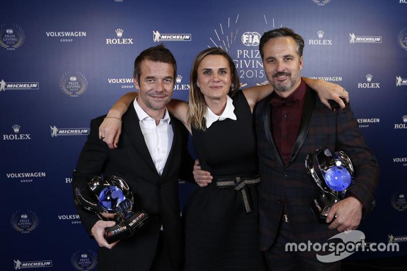 Sébastien Loeb, Citroën World Touring Car team and Yvan Muller, Citroën World Touring Car team