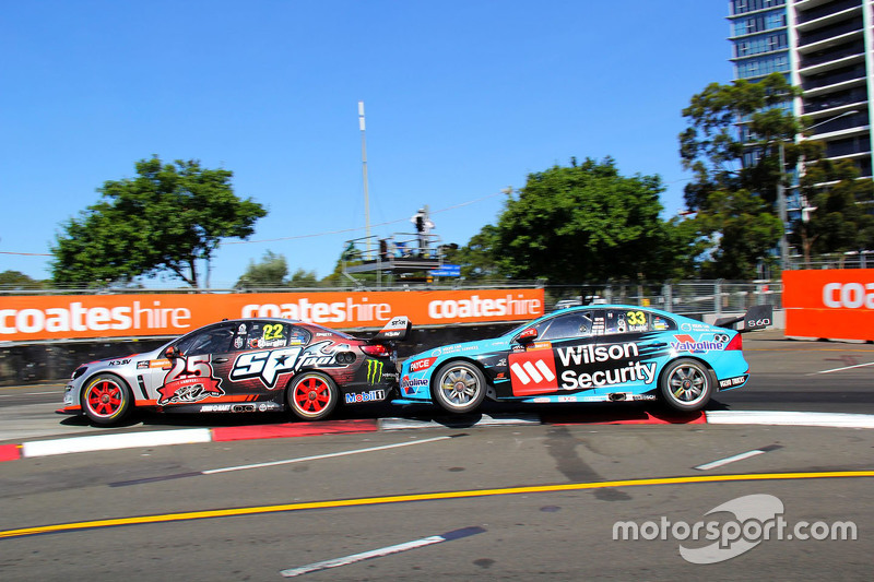 James Courtney und Scott McLaughlin, Garry Rogers Motorsport