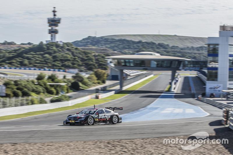 Jerez, novemberi teszt