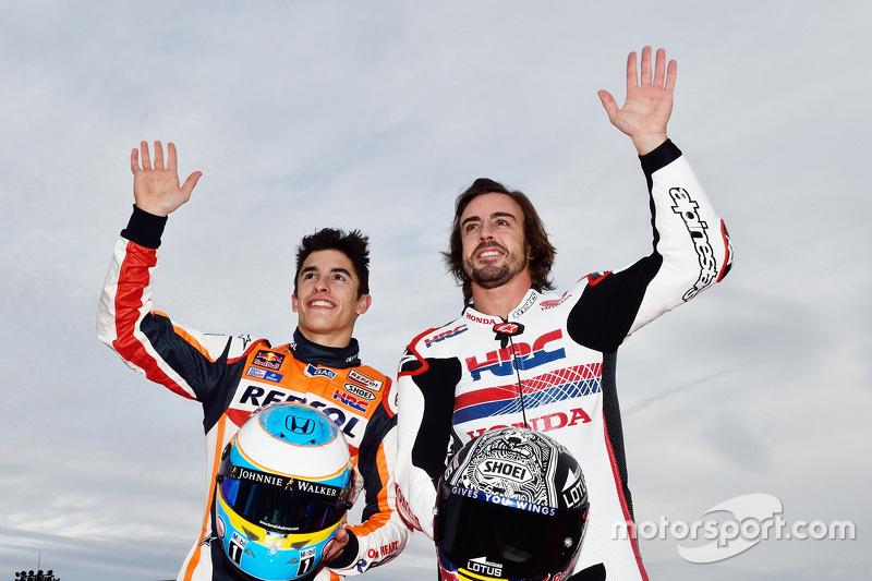 Marc Marquez und Fernando Alonso