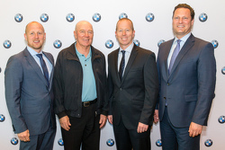 Stuart Jaffray, BMW, Jim Richards, Steven Richards, Marc Werner, BMW