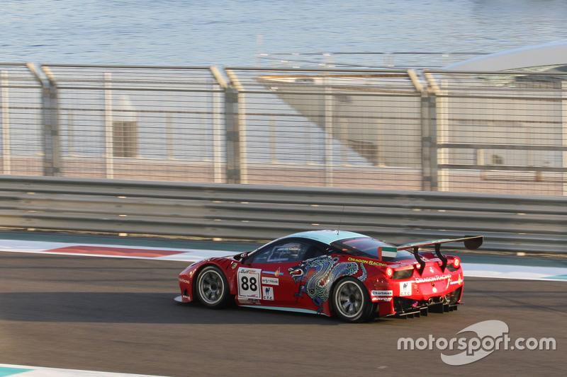 #88 Dragon Racing Ferrari 458 Italia: Frederic Fatien, John Hartshorne, Алекс Кападіа
