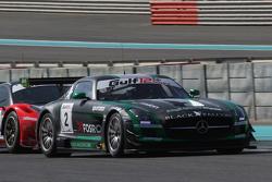 #2 Black Falcon Mercedes SLS AMG: Yelmer Buurman, Hubert Haupt, Abdulaziz Al Faisal