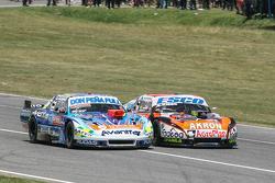 Martin Ponte, Nero53 Racing Dodge, Guillermo Ortelli, JP Racing Chevrolet