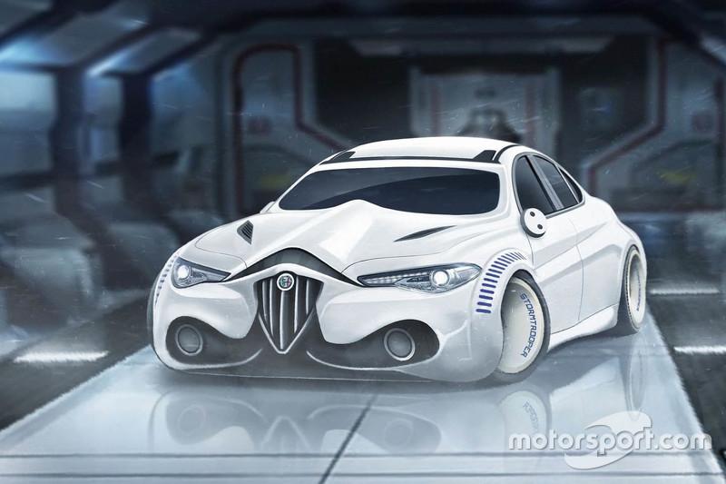 6. Alfa Romeo Giulia Stormtrooper edition