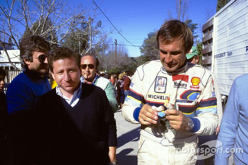 Jean Todt, Peugeot Sport, mit Carlos Reutemann
