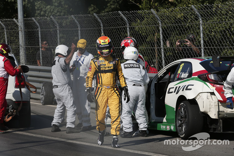 Tiago Monteiro, Honda Civic WTCC, Honda Racing Team JAS dan Jaap van Lagen, Lada Vesta WTCC, Lada Sp