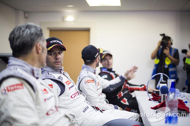Press conference: Sébastien Loeb, Citroën C-Elysee WTCC, Citroën World Touring Car team