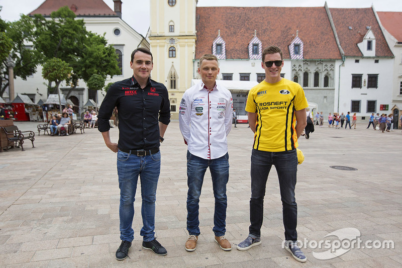 Norbert Michelisz, Honda Civic WTCC, Zengo Motorsport, Matej Homola, Chevrolet RML Cruze TC1, Campos