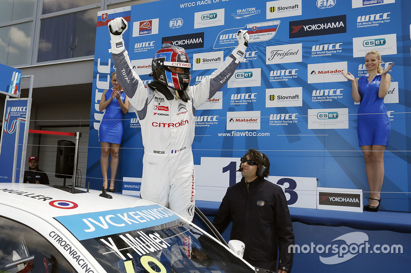 Juara balapan Yvan Muller, Citroën C-Elysee WTCC, Citroën World Touring Car team