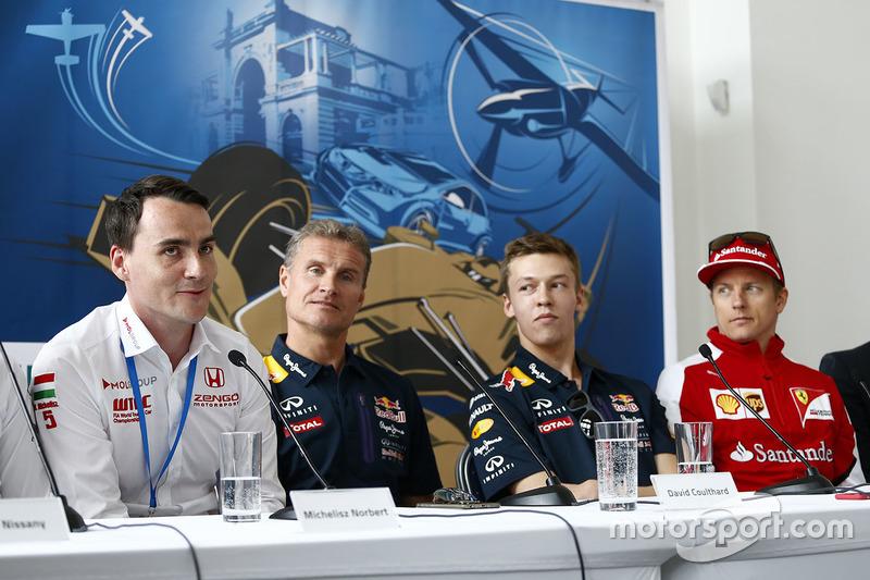 Norbert Michelisz, Honda Civic WTCC, Zengo Motorsport, David Coulthard, Daniil Kvyat, Red Bull Racin