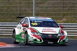 Тьяго Монтейро, Honda Civic WTCC, Honda Racing Team JAS