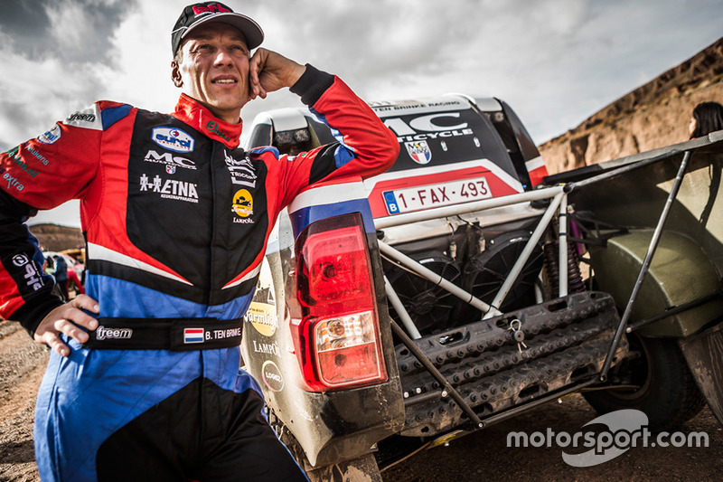 Bernhard ten Brinke en Tom Colsoul: proloogzege Dakar Rally