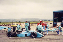 Leyton House March 881 testing
