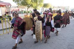 Des fans boliviens