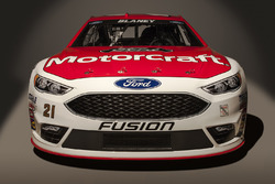 El  Ford Fusion 2016 de Ryan Blaney, Wood Brothers Racing
