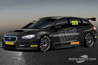 Présentation du Subaru Levorg de la Team BMR